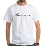 Mrs. Sparrow White T-Shirt