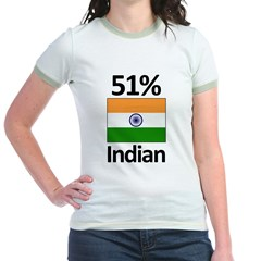 51% Indian Jr. Ringer T-Shirt
