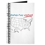 States I've Been To Journal