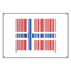 Barcode Norway Flag Banner