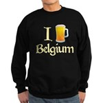 I Love Belgium (Beer) Sweatshirt (dark)