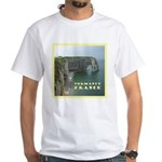 Normandy, France White T-Shirt
