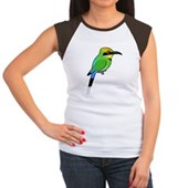 Rainbow Bee-eater Women's Cap Sleeve T-Shirt
