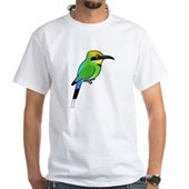 Rainbow Bee-eater White T-Shirt
