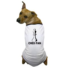 Chess Fan Dog T-Shirt