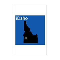 iDaho Mini Poster Print