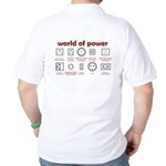 World of Power Golf Shirt