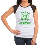 25% Irish - Thank You Grandma Women's Cap Sleeve T-Shirt