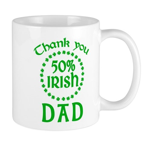 50% Irish - Dad Mug