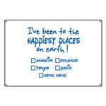 Happiest Places on Earth Banner