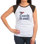 Czech It Out Women's Cap Sleeve T-Shirt