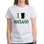 I Love Ireland (beer) Women's T-Shirt