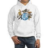 They Were Here First Hooded Sweatshirt