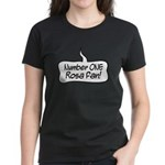Number One Rosa Fan Women's Dark T-Shirt
