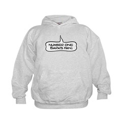 Number One Barks Fan Kids Hoodie