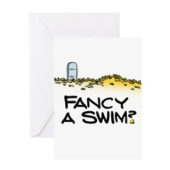 Fancy a Swim? Greeting Card