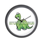 Stuffosaurus Logo Wall Clock