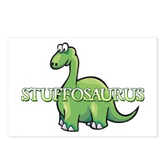 Stuffosaurus Logo Postcards (Package of 8)