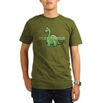 Stuffosaurus Logo Organic Men's T-Shirt (dark)