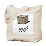 Square Egg Tote Bag