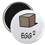 Square Egg Magnet