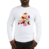  Hawaiian-style 'I'iwi Long Sleeve T-Shirt