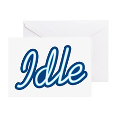 Idle Greeting Card