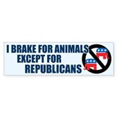 This funny anti-GOP sticker reads