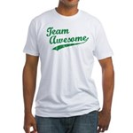 Team Awesome Fitted T-Shirt