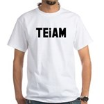 TEiAM White T-Shirt