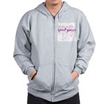 Good Witch Zip Hoodie