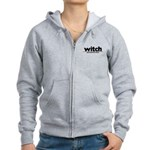 Generic witch Costume Women's Zip Hoodie