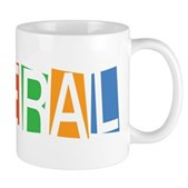 Colorful Retro Liberal Mug