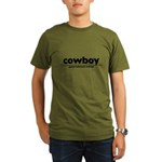 generic cowboy costume Organic Men's T-Shirt (dark)