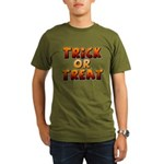 Trick or Treat Organic Men's T-Shirt (dark)