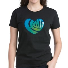 Haiti Heart Women's Dark T-Shirt