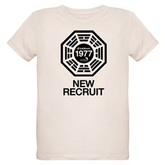 Dharma Initiative / Hanso Foundation New Recruit Organic Kids T-Shirt