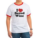 I Heart Boxed Wine Ringer T