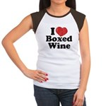 I Heart Boxed Wine Women's Cap Sleeve T-Shirt