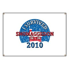 I Survived Snomaggedon Blizzard of 2010 Banner
