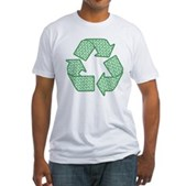 Path to Recycling Fitted T-Shirt