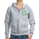 Path to Recycling Women's Zip Hoodie