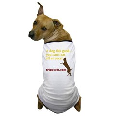 Three legged dog t-shirt