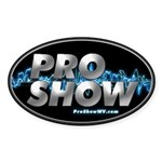 ProShow Logo Sticker (Oval 50 pk)