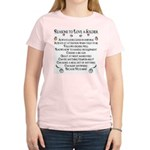 10 Reasons to love a soldier Women's Pink T-Shirt