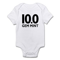 10.0 Gem Mint Infant Bodysuit