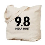 9.8 Near Mint Tote Bag