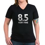8.5 Very Fine Women's V-Neck Dark T-Shirt