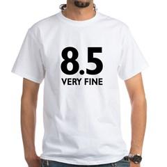 8.5 Very Fine White T-Shirt