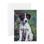Jack Russell Terrier Art Greeting Card